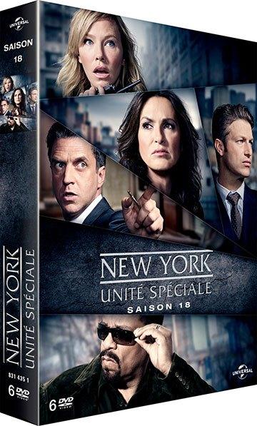 image boîtier new-york unité spéciale universal pictures video