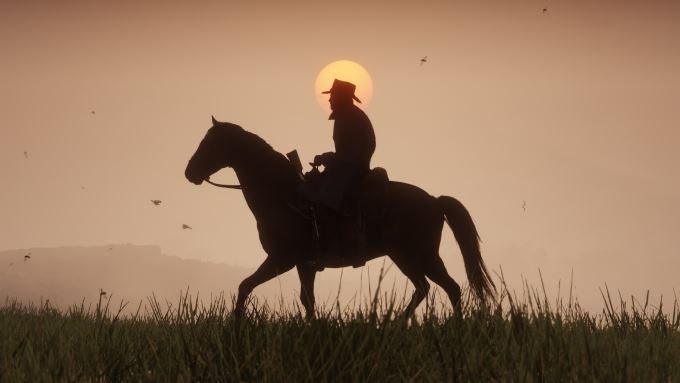 image art red dead redemption 2