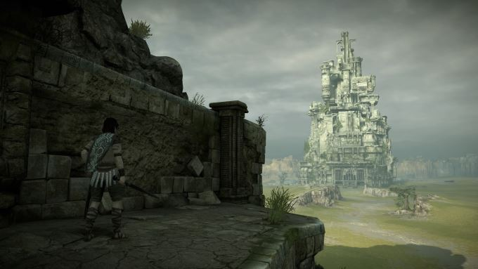image jeu shadow of the colossus