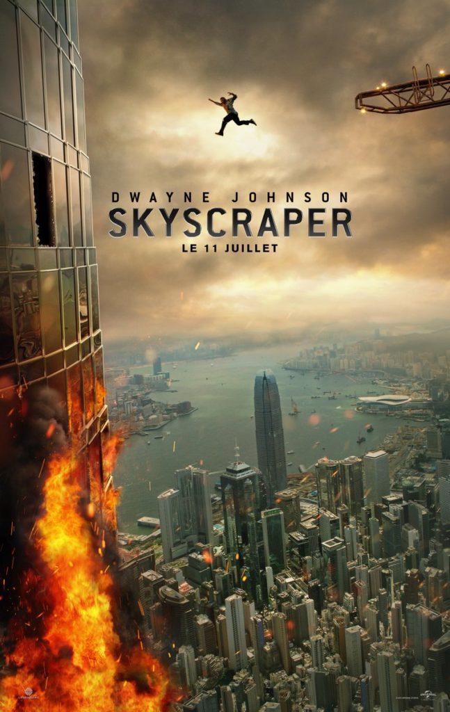 image rawson marshall thurber poster Skyscraper