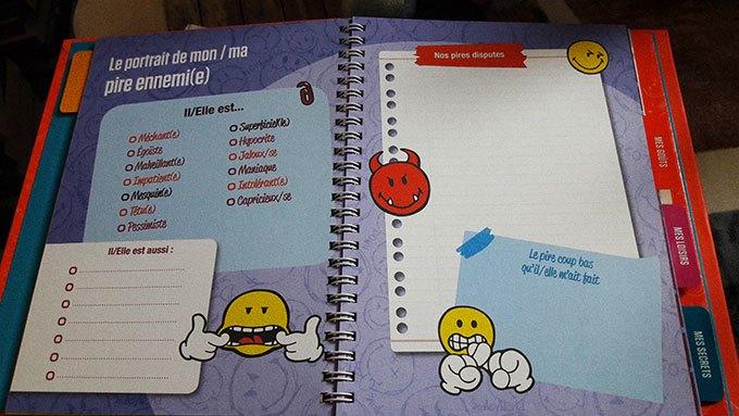 image pages ennemi journal intime smiley world tout sur moi j'aime j'aime pas