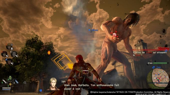 image gameplay aot 2