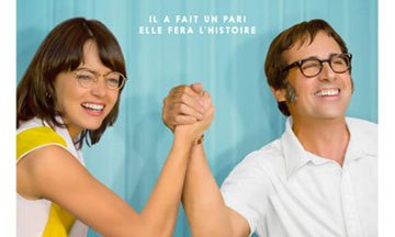 image gros plan affiche battle of the sexes