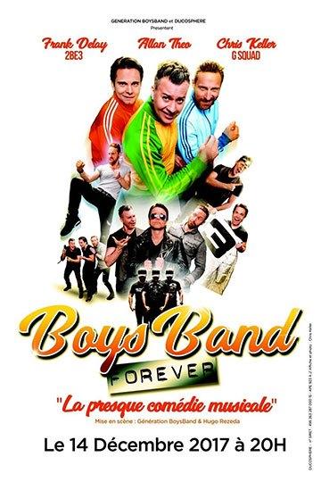 image affiche boys band forever génération boys band apollo théâtre