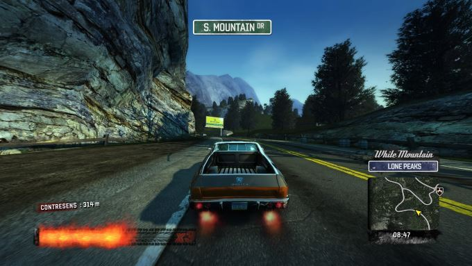 image playstation 4 burnout paradise remastered