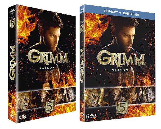 image grimm saison 5 coffret dvd blu-ray concours