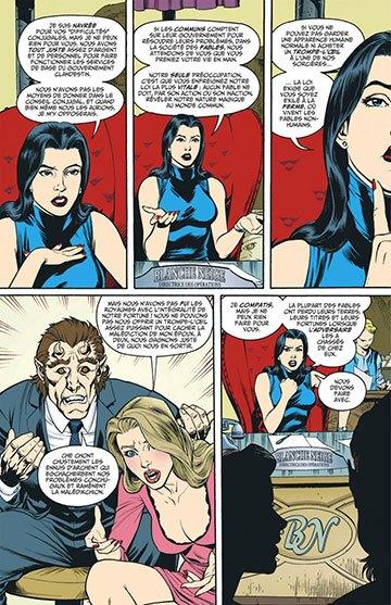 image planche la belle et la bête fables intégrale volume 1 urban comics
