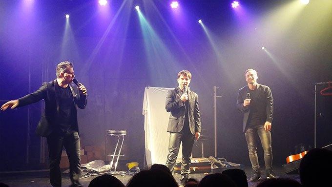 image boys band forever génération boys band sur scène