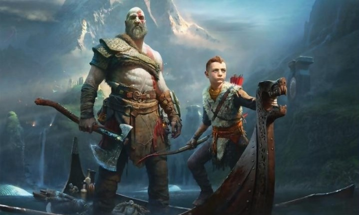 image slider god of war