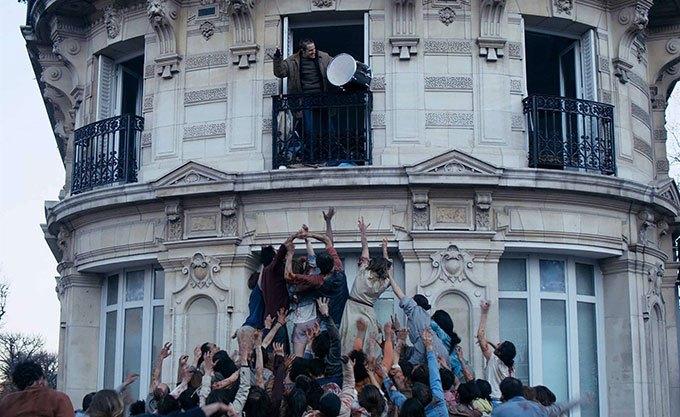 image immeuble zombies la nuit a dévoré le monde de dominique rocher