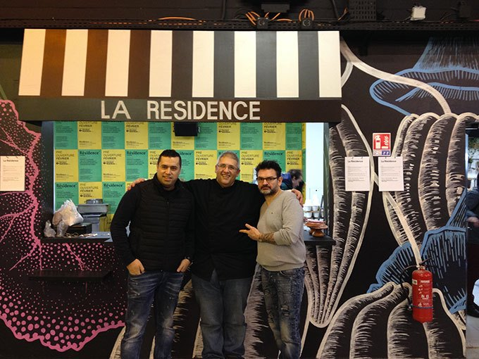 image mohammad el khaldy nabil attar stéphane jégo la résidence refugee food festival
