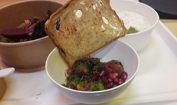 image salade du moine la résidence refugee food festival