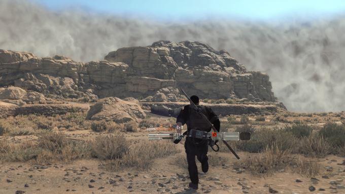 image plaine désolée zone des cendres jeu vidéo metal gear survive