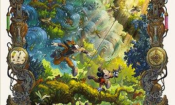 image gros plan couverture mickey et l'océan perdu denis-pierre filippi silvio camboni éditions glénat