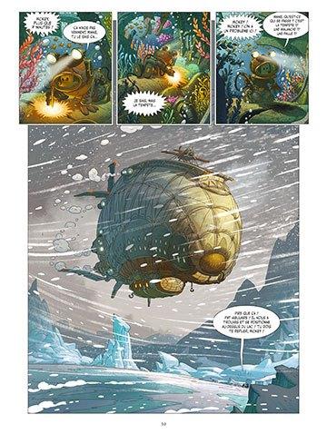 image planche 6 mickey et l'océan perdu denis-pierre filippi silvio camboni éditions glénat