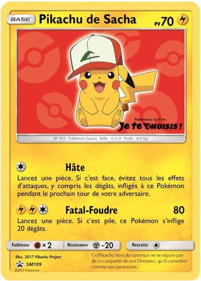 image pikachu carte pokemon