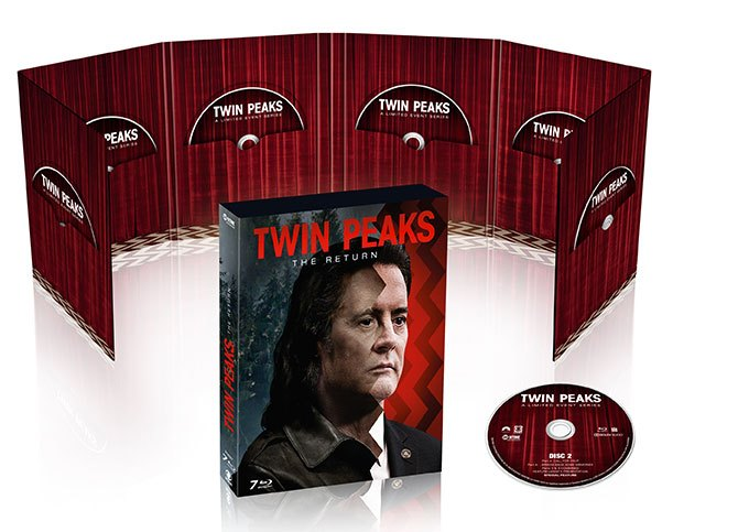 image coffret blu-ray twin peaks the return intérieur extérieur cbs home entertainment