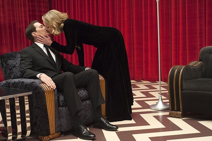image twin peaks the return saison 3 dale cooper kyle maclachlan laura palmer sheryl lee red room black lodge