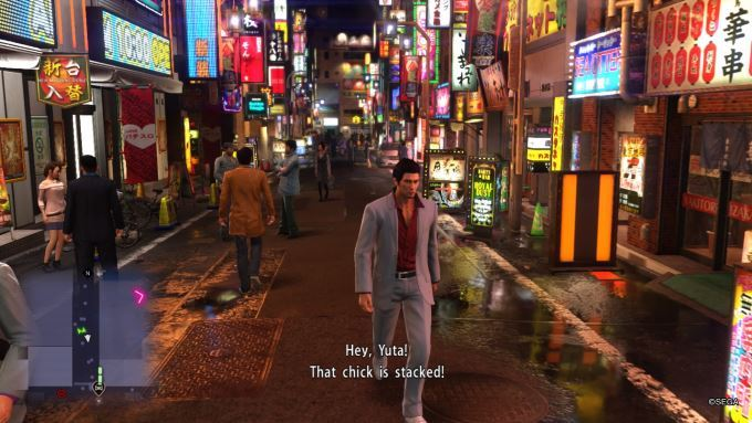image test yakuza 6