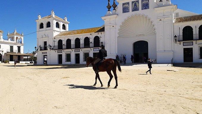 image place église notre dame d el rocio andalousie espagne