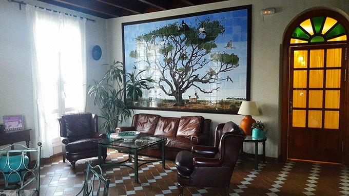 image hall hôtel toruno el rocio andalousie espagne