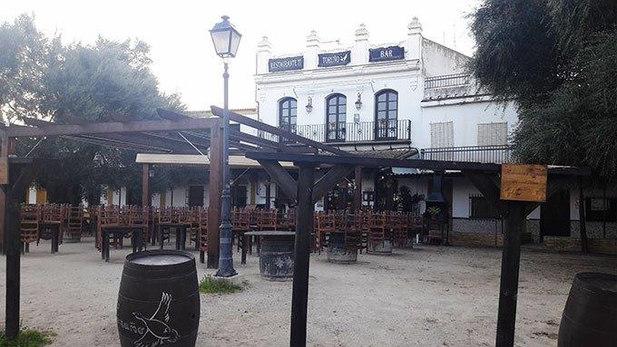 image restaurant toruno el rocio andalousie espagne