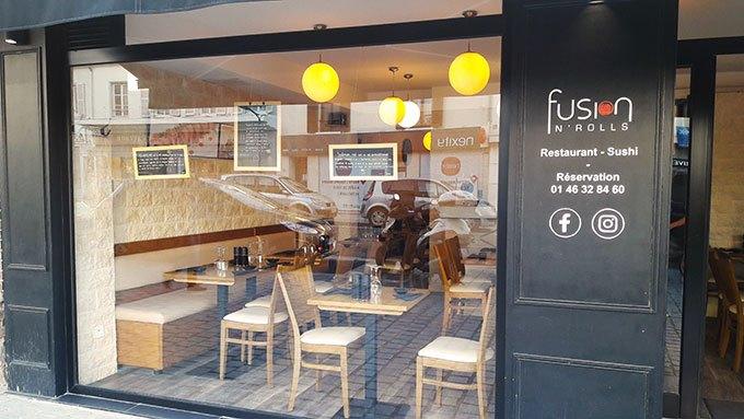 image extérieur restaurant fusion n'rolls bourg-la-reine