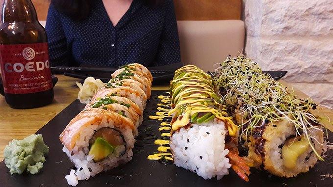 image plateau sushis rolls restaurant fusion n'rolls bourg-la-reine