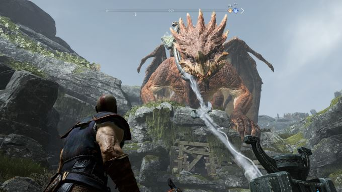 image dragon god of war