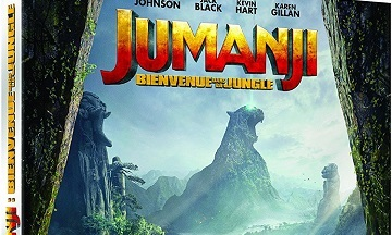 image article blu ray 4k uhd jumanji bienvenue dans la jungle