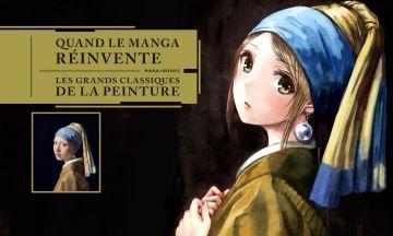 16b79f7e0370 Quand le Manga réinvente les grands classiques de la Peinture - Collectif    critique