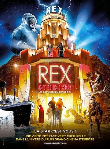 image affiche rex studios les coulisses du grand rex