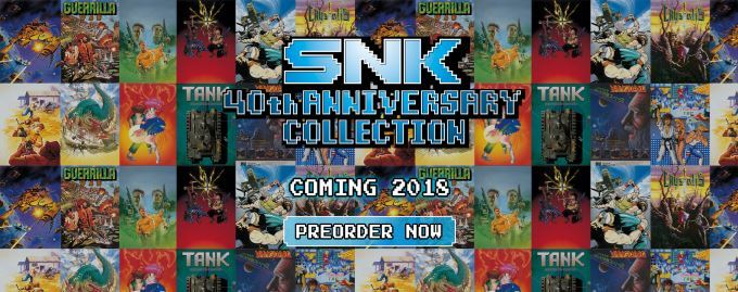 image news snk 40th anniversary collection