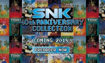 image snk 40th anniversary collection