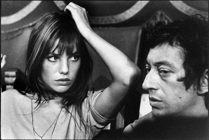 image jane birkin serge gainsbourg par tony frank paris 1969