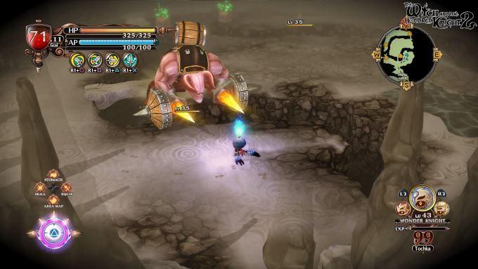 image jeu witch hundred knight 2