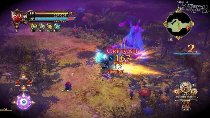 image playstation 4 witch hundred knight 2