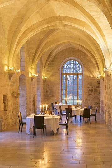 image galerie nord salle restaurant abbaye royaumont