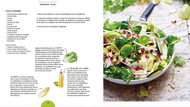 image ma salade folle manger juste sabine mazloum larousse