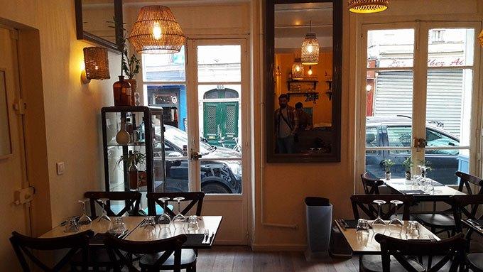 image salle intérieur restaurant signature montmartre paris