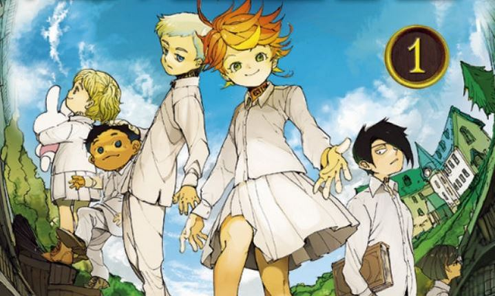 image critique the promised neverland tome 1