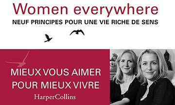 image gros plan couverture we women everywhere gillian anderson jennifer nadel harper collins france