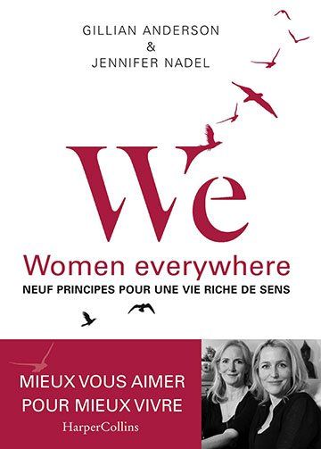 image couverture we women everywhere gillian anderson jennifer nadel harper collins france