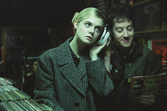 image elle fanning alex sharp how to talk to girls at parties film john cameron mitchell