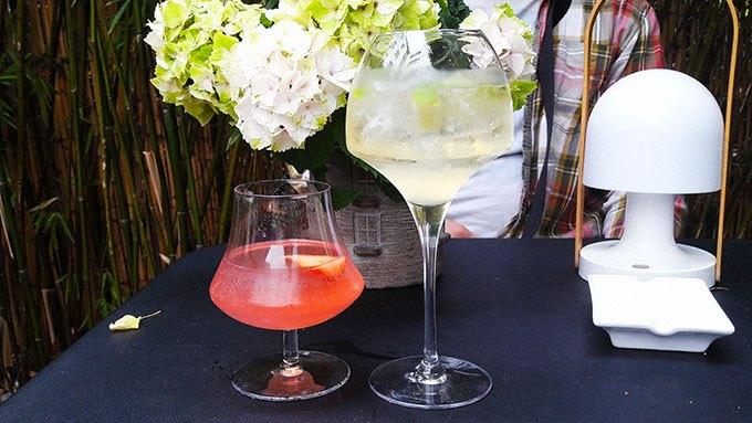 image cocktails dentelle exquise absinthe blanche sparkling mojito le clos belle juliette paris