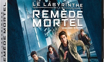 image article blu ray 4k uhd le labyrinthe le remede mortel