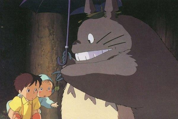 image satsuki mei parapluie mon voisin totoro hayao miyazaki