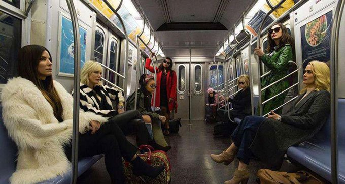 image cast ocean's 8 film gary ross