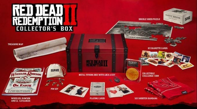 image collector's box red dead redemption 2