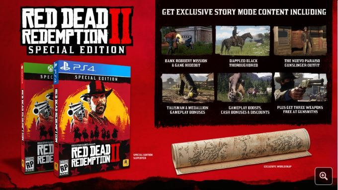 image special edition red dead redemption 2